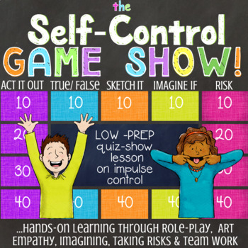 SELF-CONTROL Lesson to Build the Executive Functioning Skill of Impulse Control