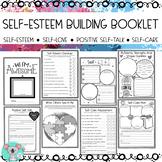 SELF-ESTEEM BUILDING BOOKLET - SELF-LOVE/SELF-CARE/POSITIVE SELF-TALK