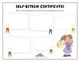 SELF-ESTEEM CERTIFICATES