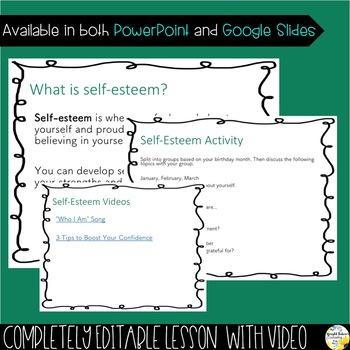 SELF-ESTEEM PowerPoint Guidance Lesson