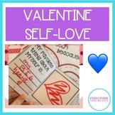 VALENTINE's DAY ACTIVITY IN SELF LOVE: WRITING, MINI BOOK & MORE
