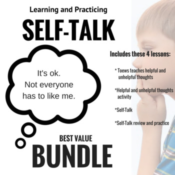 SELF-TALK BUNDLE! Teach and Practice; CBT bundle