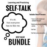 SELF-TALK BUNDLE! Teach and Practice; CBT bundle