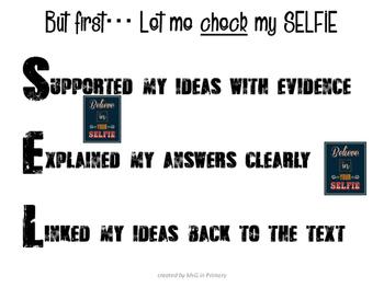 SELFIE Bulletin Board idea