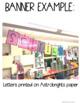 SELFIE CRAFT- BACK TO SCHOOL FUN *EDITABLE
