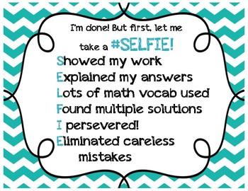 SELFIE Math Sign