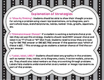SELFIE Math Testing Strategies