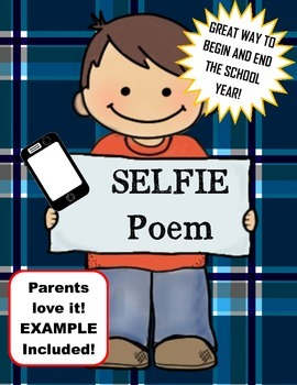 Selfie Poem Beginning and End of the Year