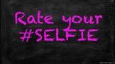 SELFIE Math self-assessment Chalkboard themed posters