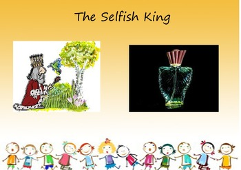 Selfishness, No. 8 from the I HAVE AN IDEA SERIES, 'My Feelings'