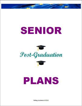 SENIOR Post-Graduation PLANS – Retain Students / Décor (Common Core Aligned)