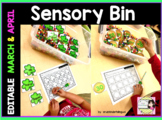 SENSORY BIN editable March & April
