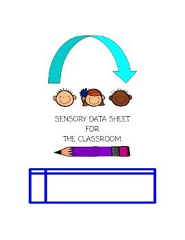 Sensory Checklist for the classroom