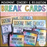 'I NEED A _______ BREAK!' HUGE assortment of varied break cards for ASD