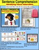 SENTENCE COMPREHENSION Identifying VISUAL ABSURDITIES Task Cards for Autism #4