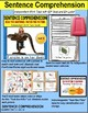 """SENTENCE COMPREHENSION Reading Task Cards """"Task Box Filler"""" for Autism SET 2"""