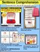 """SENTENCE COMPREHENSION Reading Task Cards for Autism """"Task Box Filler"""" Set 3"""