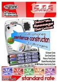 SENTENCE CONSTRUCTION- SMS: Standard Rate Activity Pack