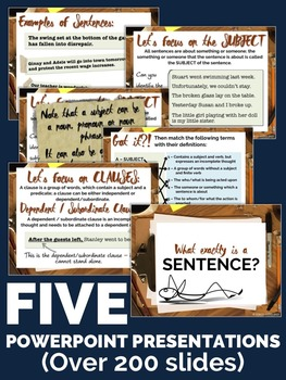 SENTENCE FLUENCY: Tools For Teaching Writing Mini-Unit