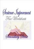 SENTENCE IMPROVEMENT:  Five Worksheets