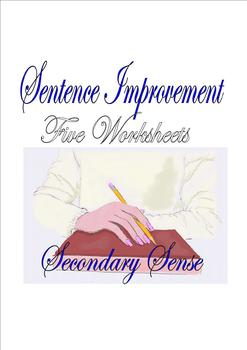 SENTENCE IMPROVEMENT:  Five Worksheets