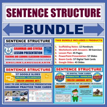 SENTENCE STRUCTURE: BUNDLE