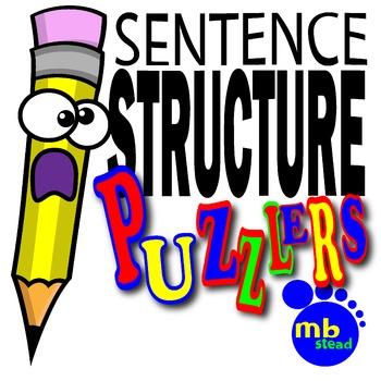 SENTENCE STRUCTURE PUZZLERS: A UNIQUE Way to Teach the PAR