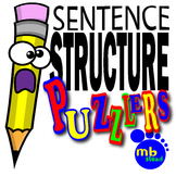 SENTENCE STRUCTURE PUZZLERS: A UNIQUE Way to Teach the PAR