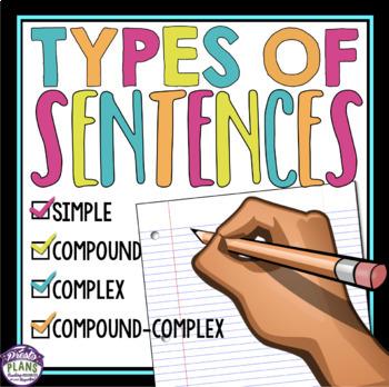 SENTENCE STRUCTURE TYPES: SIMPLE, COMPOUND, COMPLEX, COMPOUND-COMPLEX