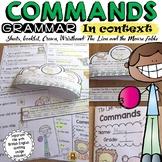 SENTENCE TYPE: COMMANDS