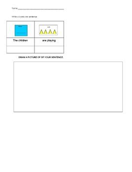 SENTENCE WRITING Noun + Verb