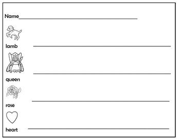SENTENCE WRITING * KINDERS-1ST GRADE