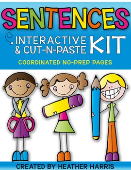SENTENCES {INTERACTIVE KIT}