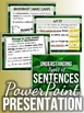 SENTENCES (Simple, Compound, Complex & Compound-Complex): Teaching Pack