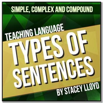 SENTENCES (Simple, Compound, Complex & Compound-Complex):