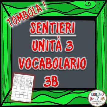 SENTIERI Unità 3 Vocabolario 3B Descrizioni Personali BINGO GAME