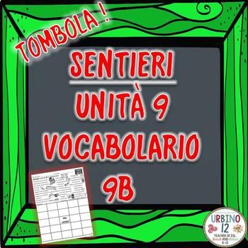 SENTIERI Unità 9 Vocabolario 9B  Le Commissioni  Bingo Game