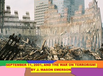 9-11 AND THE WAR ON TERRORISM! (FUN WORD SEARCHES, MUCH ENGLISH-SPANISH)