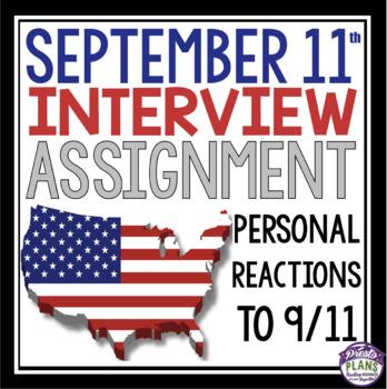 SEPTEMBER 11 INTERVIEW ASSIGNMENT