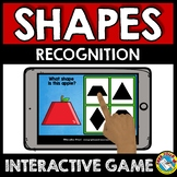 SEPTEMBER BOOM CARDS MATH (APPLE KINDERGARTEN ACTIVITY) 2D SHAPES GAME FOR FALL