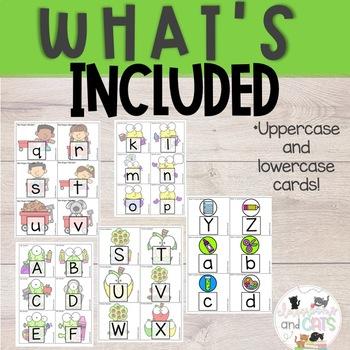 SEPTEMBER Monthly Alphabet Letter Recognition Games