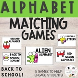 SEPTEMBER Monthly Alphabet Letter Recognition Games