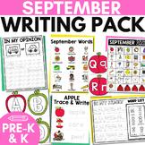 SEPTEMBER Writing Center for Preschool and K