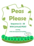 SEQUENCE NUMBERS 11 to 20* Counting & Cardinality* Peas Pl