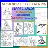SEQUENCE OF EVENTS BUNDLE - Five Classic Books in Spanish