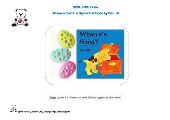 SEQUENCE WHERE'S SPOT Easter avec matériel