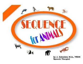 SPEECH THERAPY SEQUENCE for ANIMALS GAME