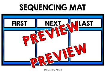SEQUENCING ACTIVITIES: SEQUENCING CARDS: SEQUENCING OF EVENTS