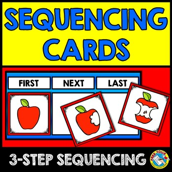SEQUENCING ACTIVITIES (SEQUENCING PICTURE CARDS) SEQUENCING OF EVENTS