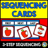 STORY PICTURE SEQUENCING ACTIVITY KINDERGARTEN SEQUENCE OF EVENT CARDS PRESCHOOL